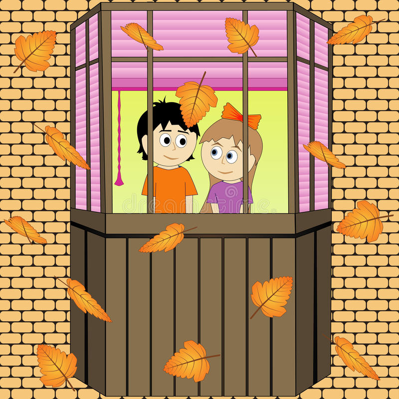 Ύφος φθινοπώρου του 2008 αέρα φθινοπώρου το ξηρό φύλλο αλσών πτώσης χρυσό φεύγει κοντά στις δρύινες Ρωσία στροφές Οκτωβρίου που κ στοκ φωτογραφία