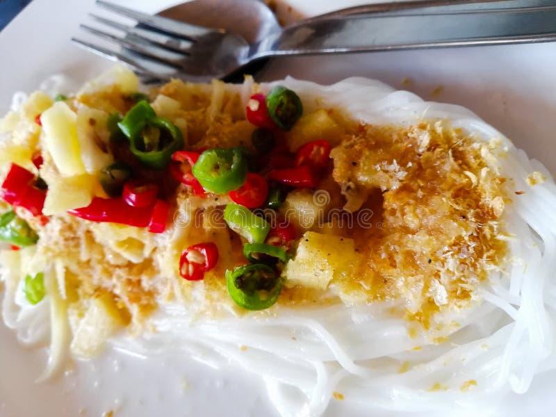 Ύφος ‹thai†‹Thai†‹food†στοκ εικόνες