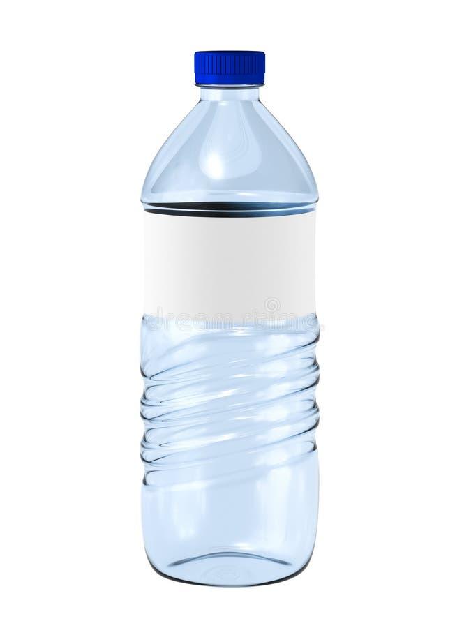 ύδωρ έκδοσης ράστερ απεικόνισης μπουκαλιών απεικόνιση αποθεμάτων