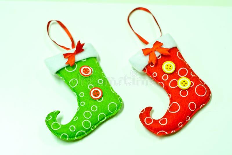 ύδωρ καλτσών ζωγραφικής σχεδίου χρώματος Χριστουγέννων βάσεων στοκ φωτογραφία με δικαίωμα ελεύθερης χρήσης