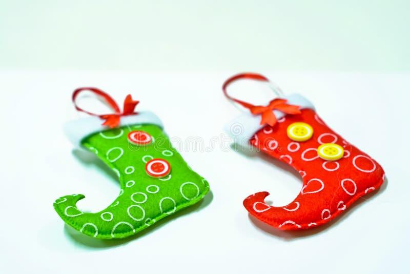 ύδωρ καλτσών ζωγραφικής σχεδίου χρώματος Χριστουγέννων βάσεων στοκ φωτογραφίες με δικαίωμα ελεύθερης χρήσης