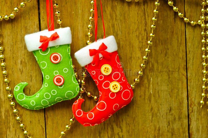 ύδωρ καλτσών ζωγραφικής σχεδίου χρώματος Χριστουγέννων βάσεων στοκ φωτογραφίες