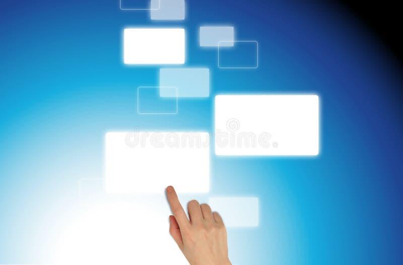 ώθηση χεριών ελεύθερη απεικόνιση δικαιώματος