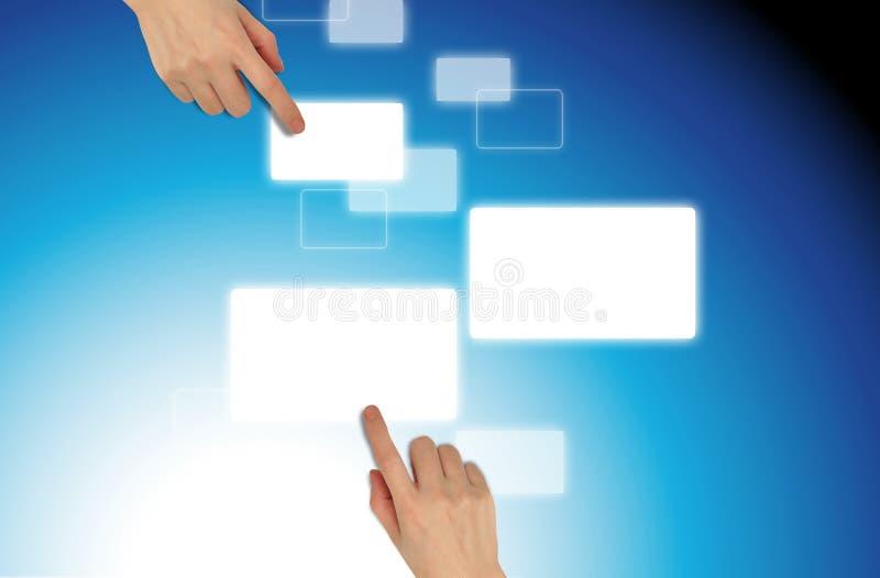 ώθηση χεριών στοκ εικόνες με δικαίωμα ελεύθερης χρήσης
