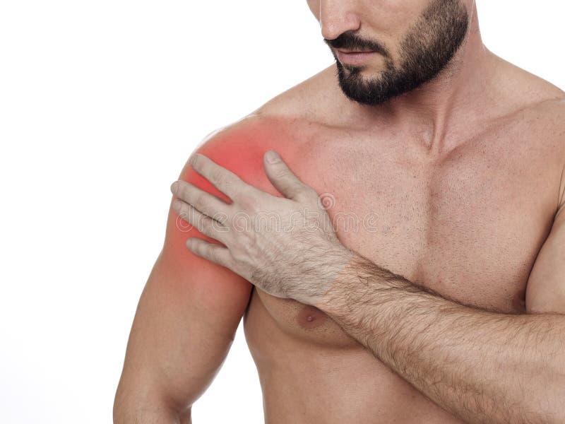 ώμος πόνου στοκ εικόνα με δικαίωμα ελεύθερης χρήσης