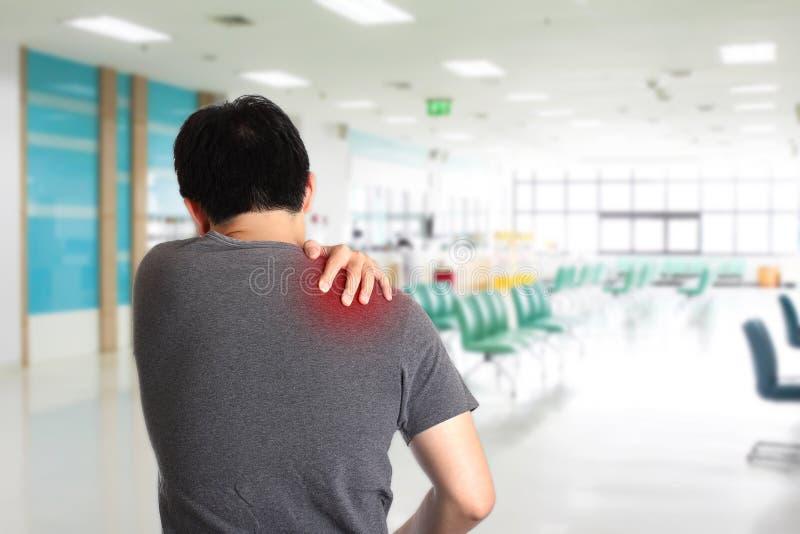ώμος πόνου στοκ εικόνες