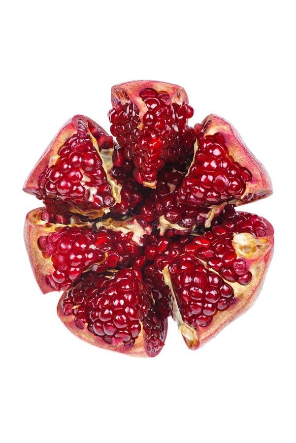 Ώριμα φρούτα ροδιών στοκ εικόνες