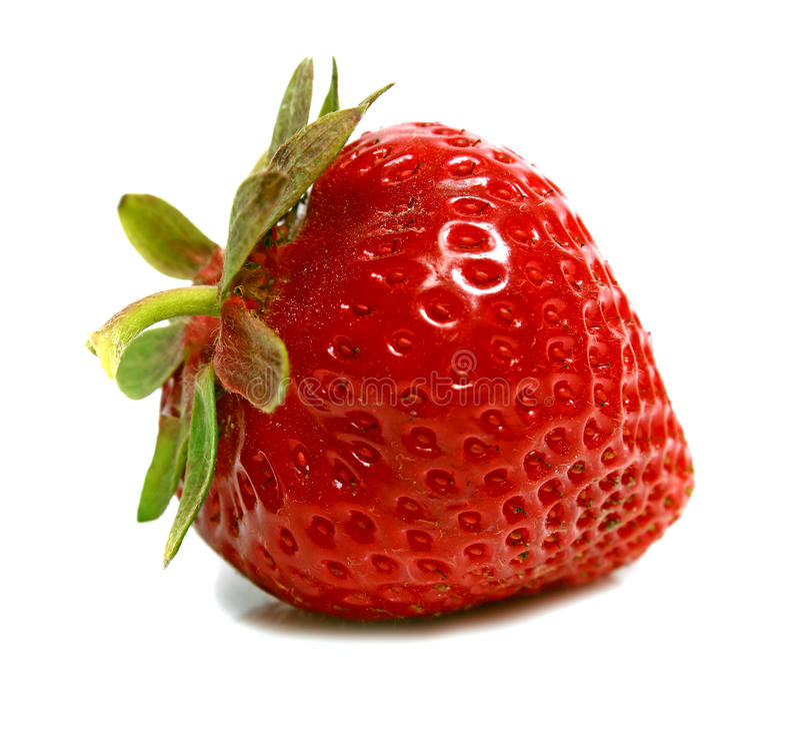 ώριμα strawberrys στοκ φωτογραφία