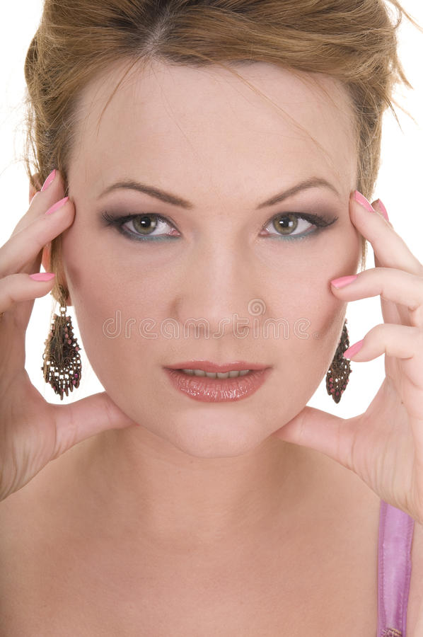 ώριμη γυναίκα ομορφιάς στοκ φωτογραφία με δικαίωμα ελεύθερης χρήσης