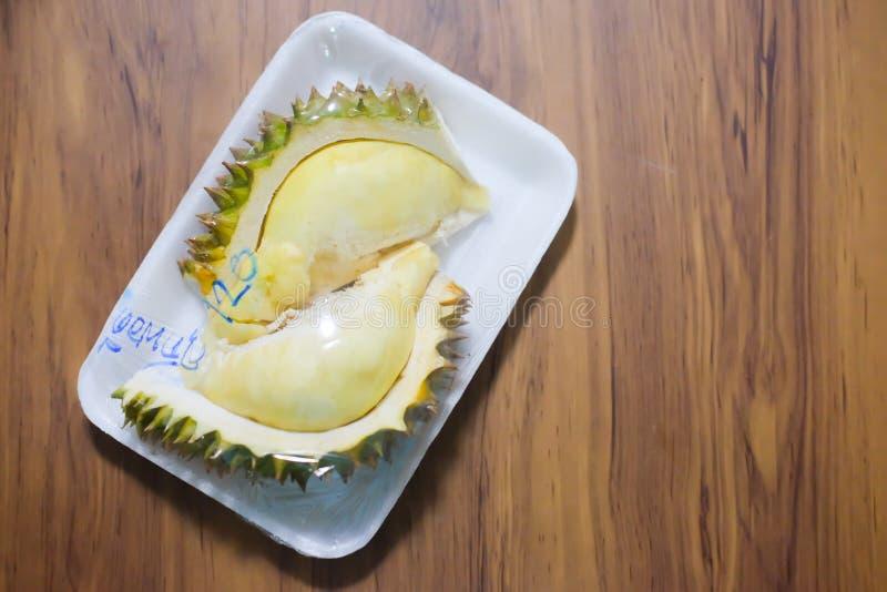 Ώριμη κίτρινη σάρκα Durian στοκ φωτογραφία με δικαίωμα ελεύθερης χρήσης