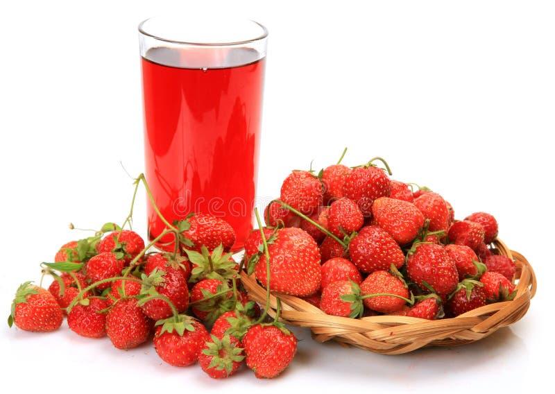 Ώριμη φράουλα στοκ φωτογραφία