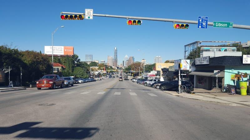 Ώστιν, άποψη πόλεων TX στοκ εικόνα με δικαίωμα ελεύθερης χρήσης