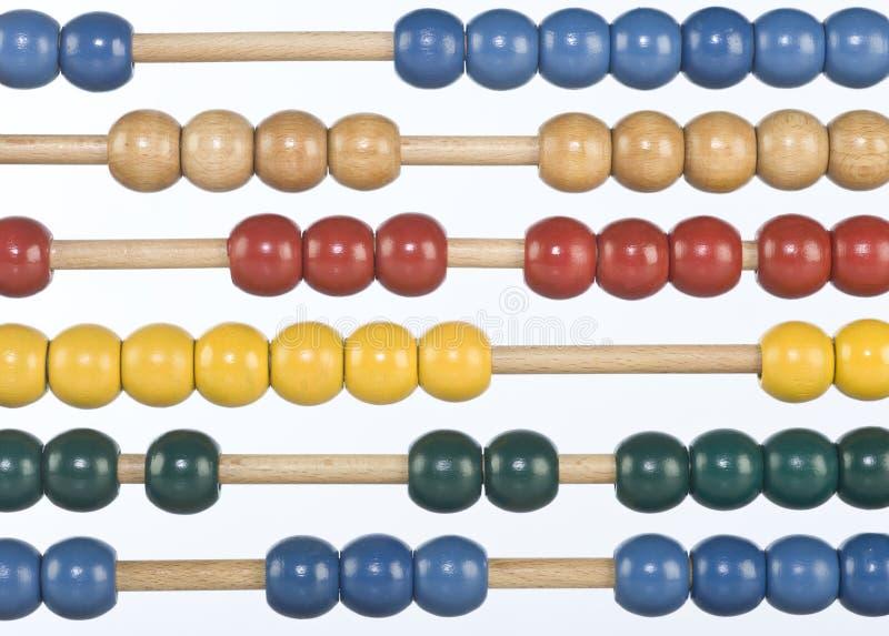 абакус стоковое изображение rf
