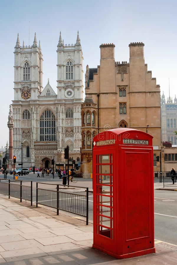 аббатство Англия London Westminster Стоковое Изображение