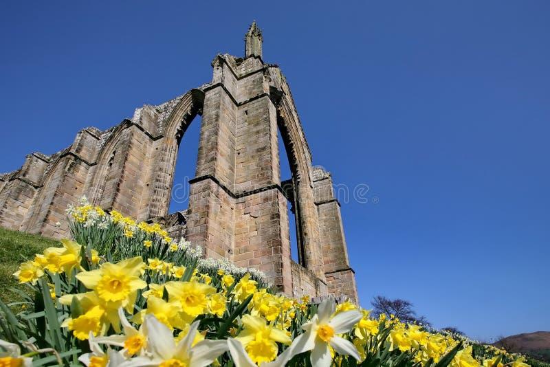 аббатство bolton северный yorkshire стоковая фотография rf