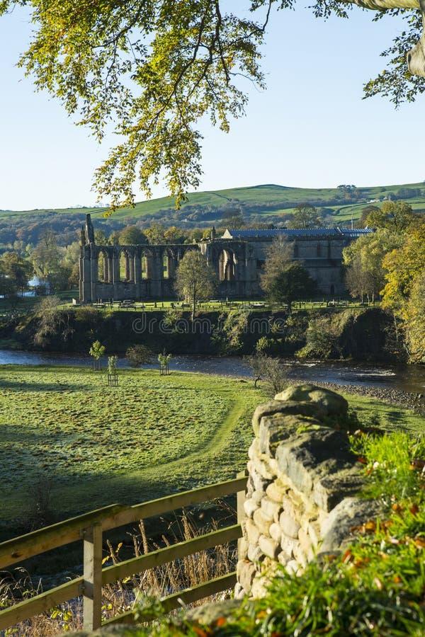 аббатство bolton северный yorkshire стоковые изображения