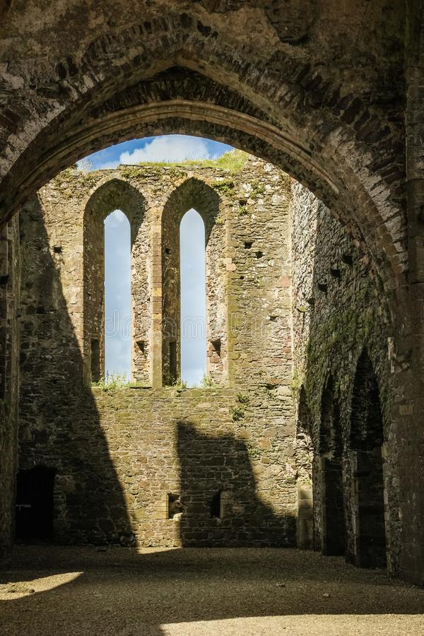 аббатство dunbrody графство Wexford Ирландия стоковые изображения