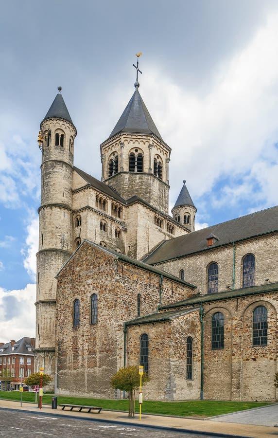 Аббатство Nivelles, Бельгия стоковые изображения