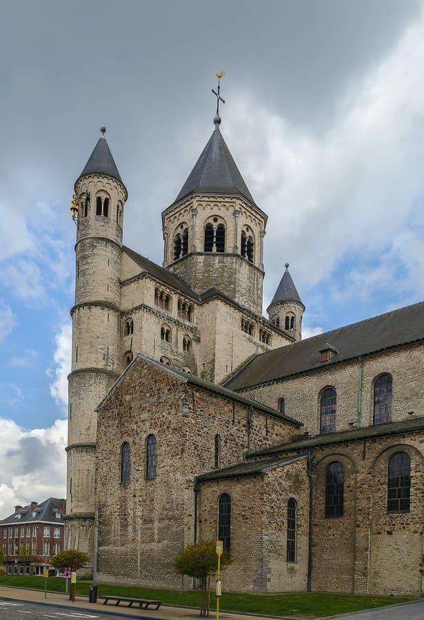 Аббатство Nivelles, Бельгия стоковые изображения rf