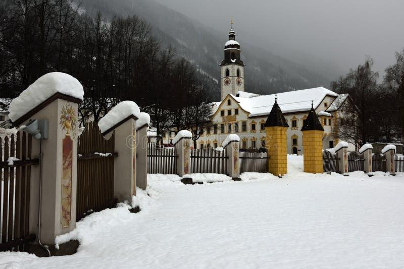 Аббатство Stams, Tirol, Австрия стоковые фотографии rf