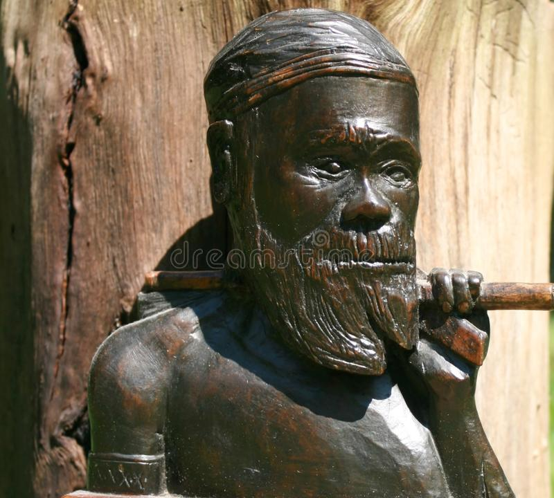 Аборигенный ратник стоковые изображения