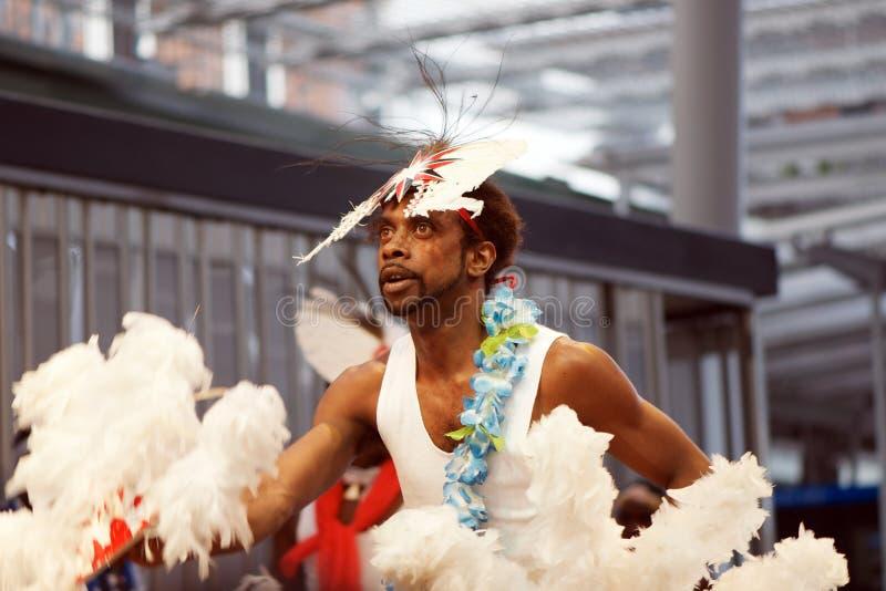 аборигенный танцор стоковая фотография