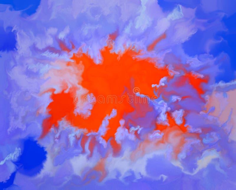 Абсорбциа отраженных межзвёздных облаков солнцецвета стоковое фото rf