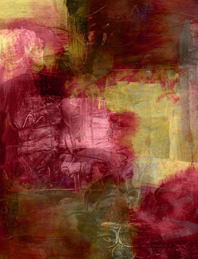 абстрактная акриловая краска предпосылки бесплатная иллюстрация