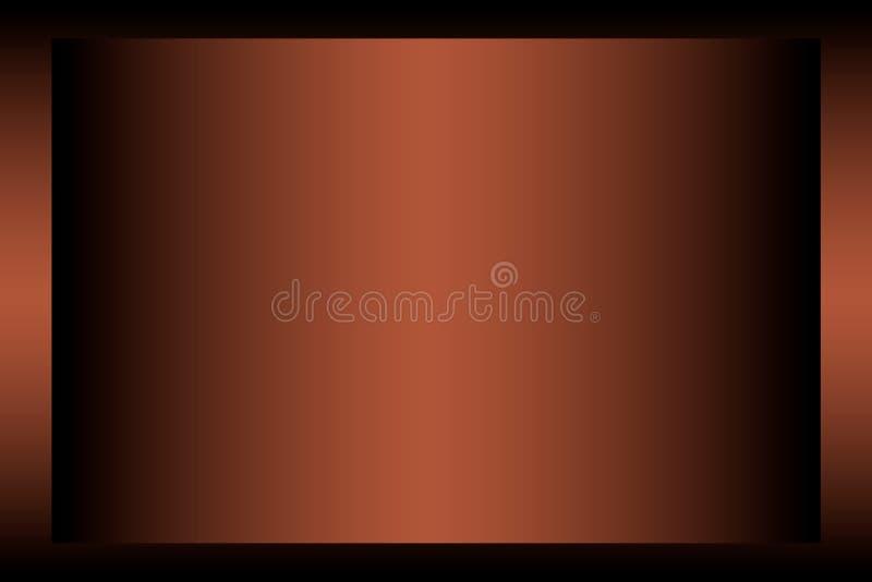 Абстрактная бежевая предпосылка, бронзовая предпосылка для представлений иллюстрация вектора
