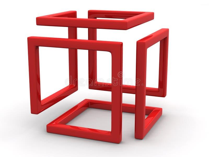 абстрактная безграничность изображения иллюстрация вектора