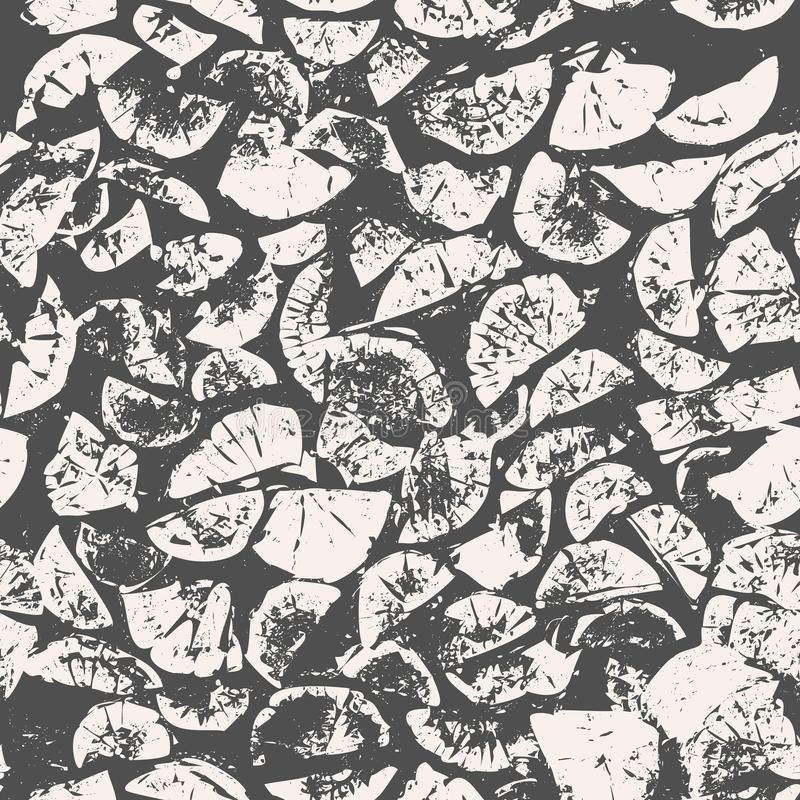 Абстрактная безшовная картина, grunge швырка, отрезка дерева предпосылка, серых и бежевых деревянная, текстура вектор иллюстрация вектора