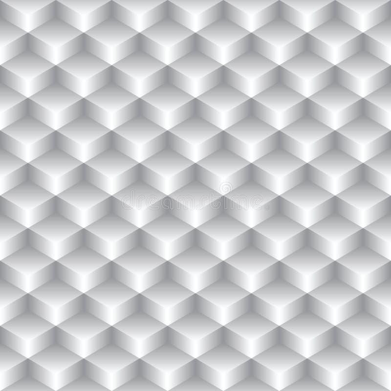 Абстрактная безшовная простая геометрическая текстура - vecto иллюстрация вектора