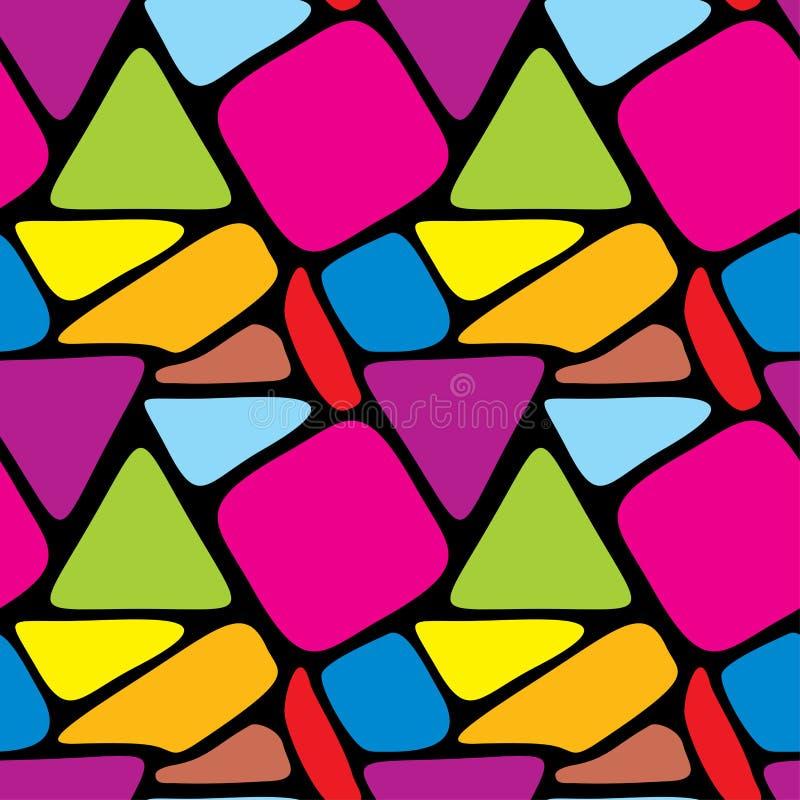 абстрактная безшовная текстура иллюстрация штока