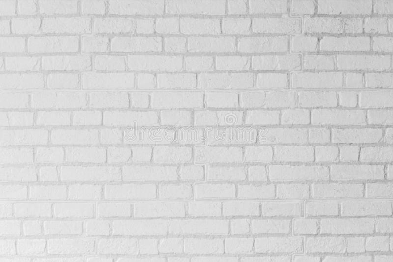 Абстрактная белая предпосылка текстуры стены цемента кирпича стоковые фотографии rf