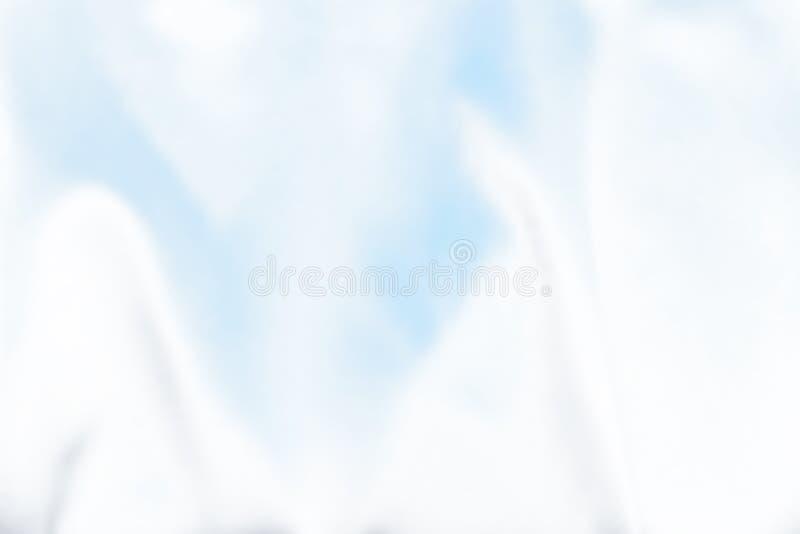 Абстрактная белая и голубая предпосылка пульсации стоковые фотографии rf