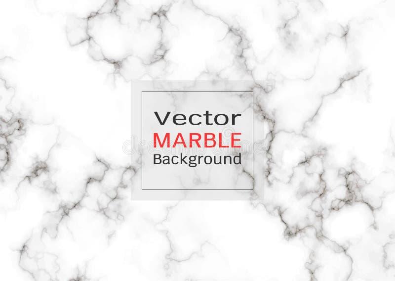 Абстрактная белая мраморная текстура, предпосылка картины вектора иллюстрация штока