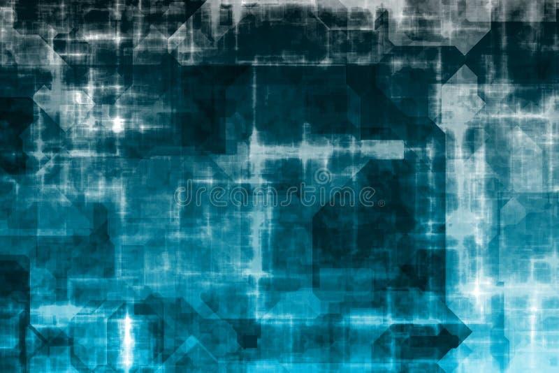 абстрактная бизнес-система предпосылки бесплатная иллюстрация