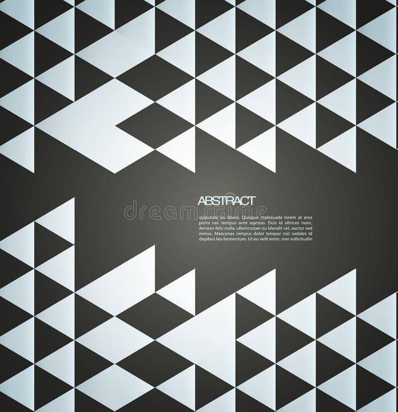 Абстрактная брошюра мозаики /retro предпосылки или бесплатная иллюстрация