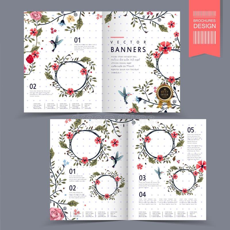 Абстрактная брошюра, banner-Bo0044-33 иллюстрация штока