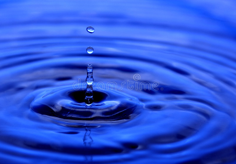 абстрактная вода падения стоковые изображения
