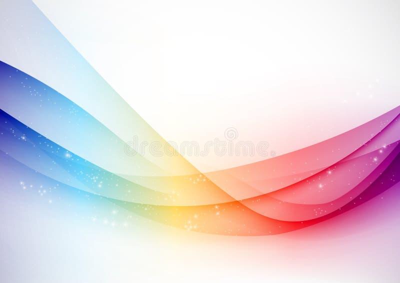 абстрактная волна вектора стоковое фото rf