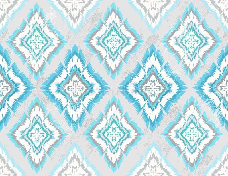 Абстрактная геометрическая безшовная ацтекская картина бесплатная иллюстрация