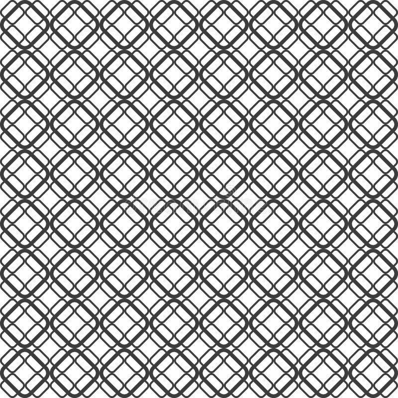 Абстрактная геометрическая безшовная картина предпосылки Illustrat вектора иллюстрация вектора