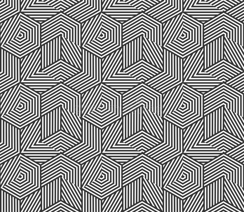 Абстрактная геометрическая безшовная предпосылка картины Предпосылка картины текстуры сота полигона вектора незаконная иллюстрация вектора