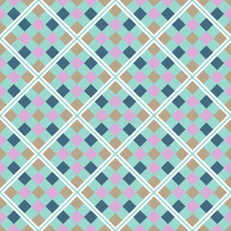 абстрактная геометрическая картина безшовная иллюстрация вектора