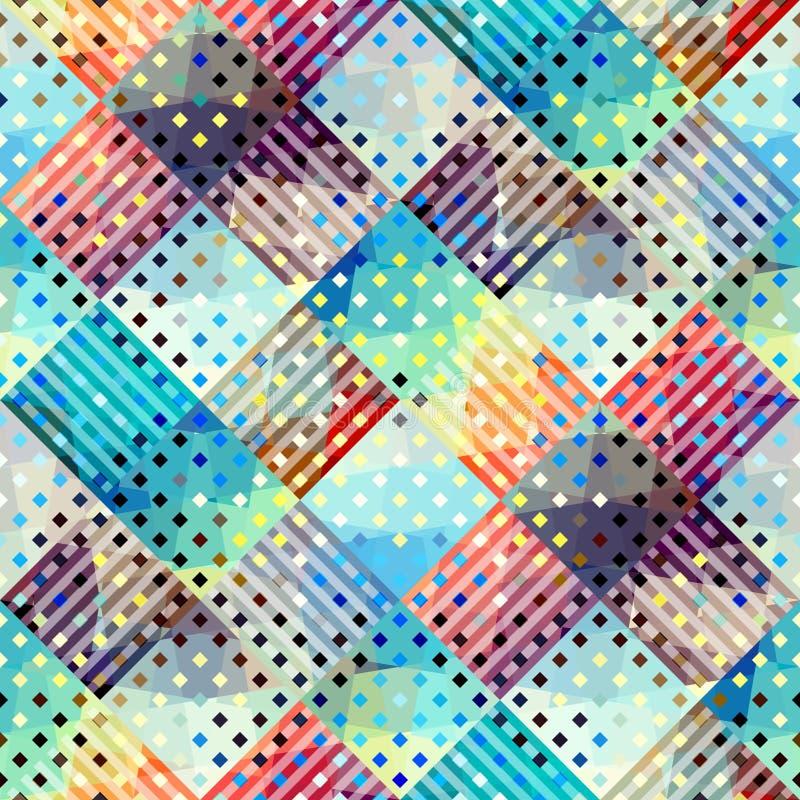 абстрактная геометрическая картина иллюстрация штока