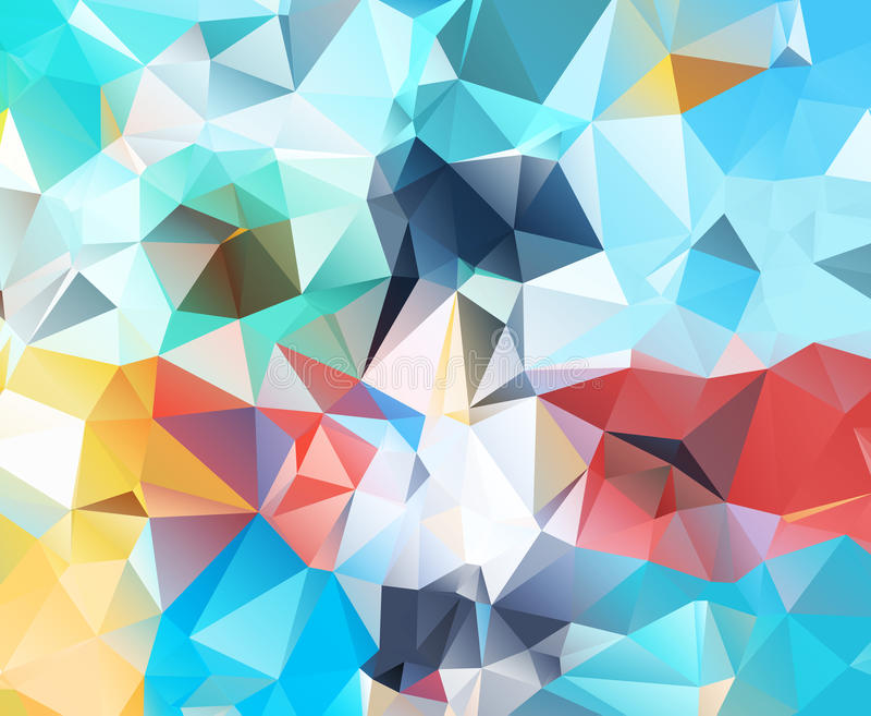 Абстрактная геометрическая предпосылка новая иллюстрация штока