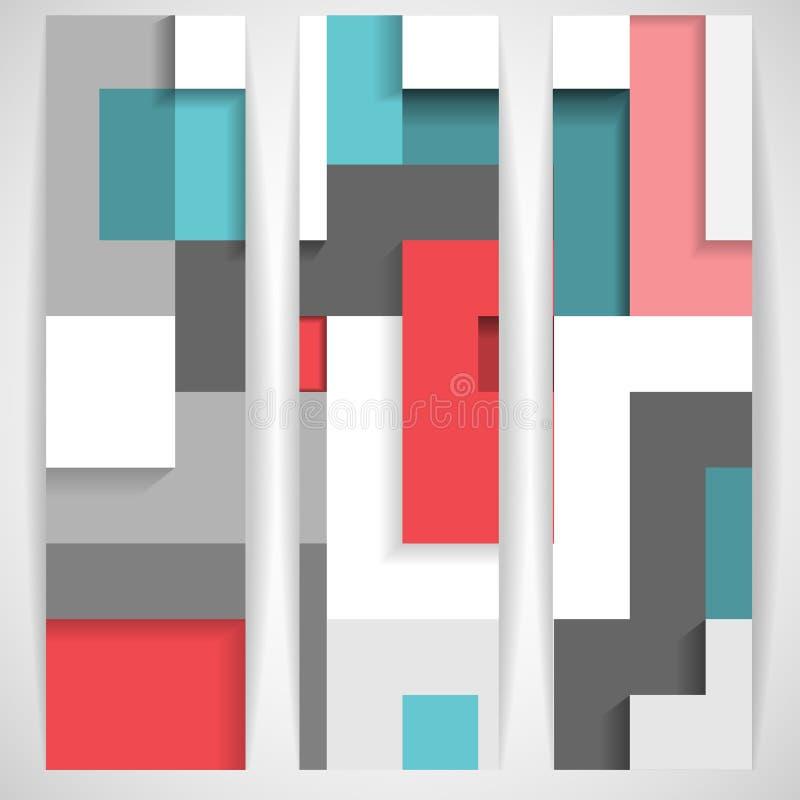 Абстрактная геометрическая предпосылка. иллюстрация штока