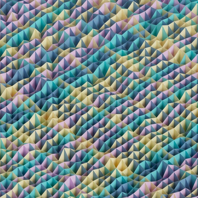 Абстрактная геометрическая предпосылка стоковые фотографии rf