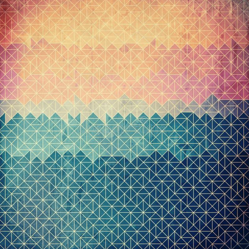 Download Абстрактная геометрическая предпосылка Grunge Иллюстрация штока - иллюстрации насчитывающей старо, художничества: 37929929